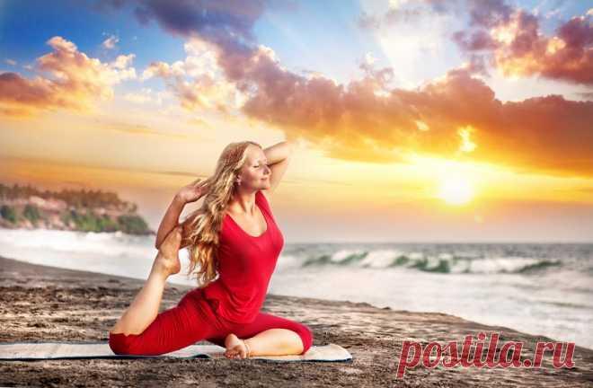 Поза голубя для женского здоровья: раскрываем таз правильно по всем канонам йоги - Образованная Сова
