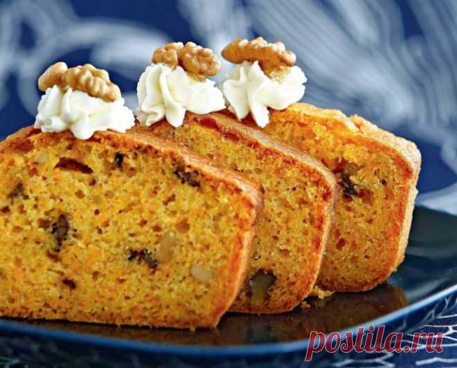 Spicy carrot cake