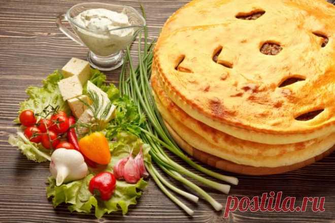 Осетинские пироги - самое популярное блюдо осетинской кухни