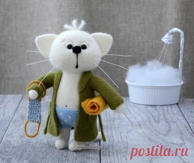 Очаровательные валяные игрушки от elena covert
