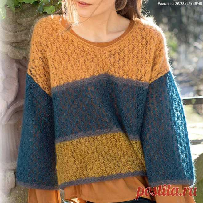 3 недели до осени 7 пуловеров спицами Модели из мохера   Всё лучшее - маме   Яндекс Дзен