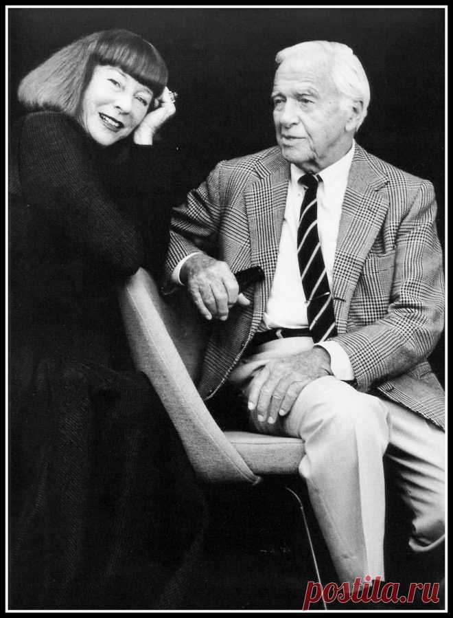 Bettina and René Gruau, photo by Joachim Magrent, German Vogue, 1997