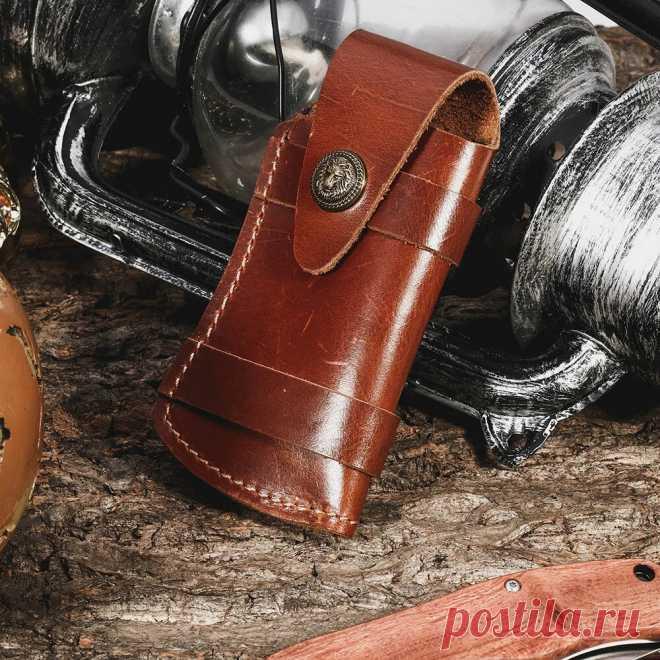 Men Genuine Leather EDC Retro Easy Carry Waist Bag Belt Sheath - US$18.99