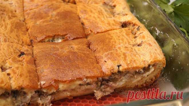Пирог Выручайка! Быстро и Волшебно Вкусно!  Заливной пирог с сайрой и картофелем. Вкусный нежный, сочный так и хочется съесть еще кусочек. Готовится просто и быстро, не нужно ничего раскатывать и защипывать. ИНГРЕДИЕНТЫ  Яйца – 2 шт. Соль – 1/…