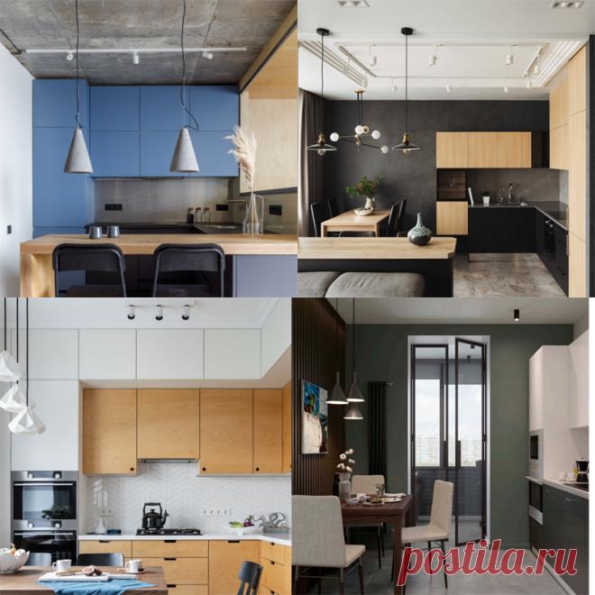 Проектирование освещения на кухне - Ремонт | лайфхаки | интерьер Кухня — это очень требовательное помещение к качеству освещения, и одинокая люстра очень редко может удовлетворить все потребности к нему.