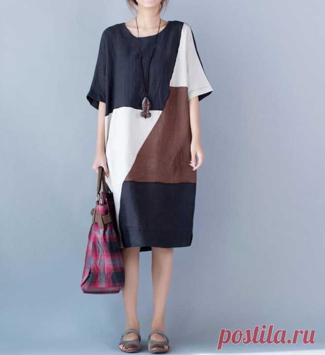 Women summer Dresses Raglan sleeve dress women dresses | Etsy