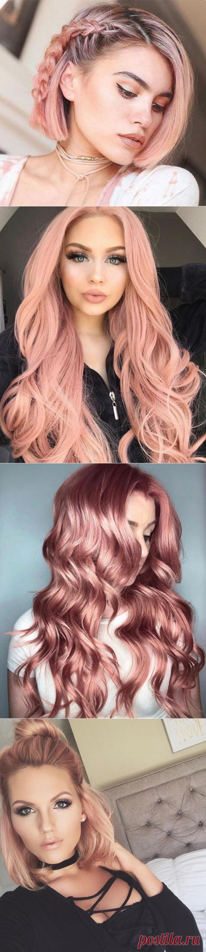 Привлеки внимание с помощью невероятно красивого цвета волос «клубничный блонд» | Новости моды