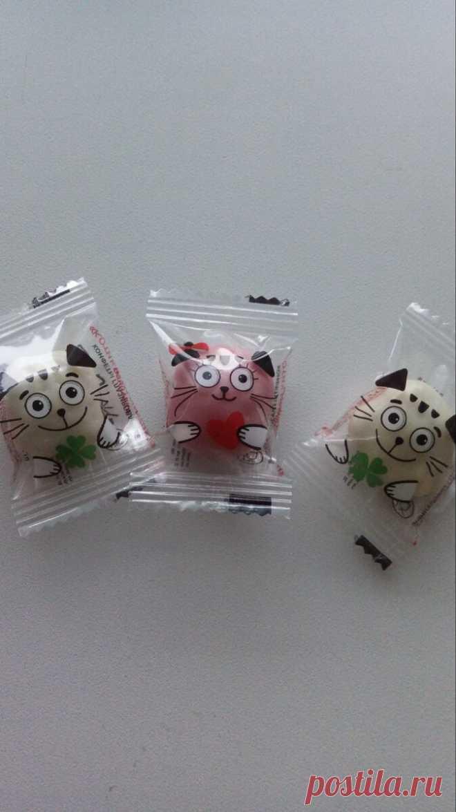 Нашла в Атаке оригинальные конфеты для ребенка, но быстро разочаровалась в них