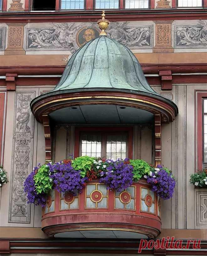 Самые необычные балконы фото