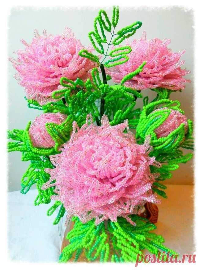 Восхитительная роза из бисера: мастер-класс — Сделай сам, идеи для творчества - DIY Ideas