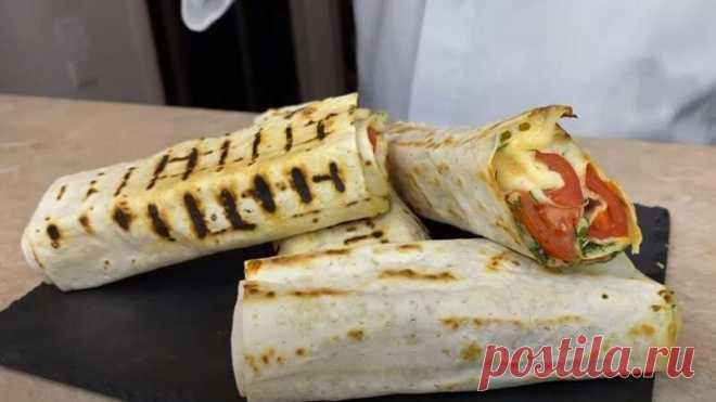 Лаваш с Сыром и Зеленью Рецепт за (10) Минут Рецепт лаваш с сыром и зеленью на сковороде получается вкусным и аппетитным. Лаваш готовится просто и быстро в течении 10 минут.