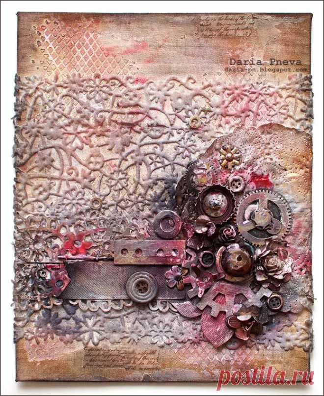 Тонирование открытки
