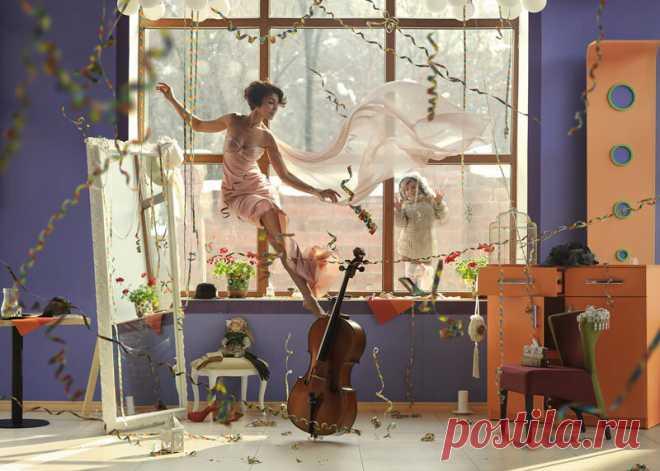 Воздушные куколки. Фотопроект узбекского фотографа | World culture story | Яндекс Дзен