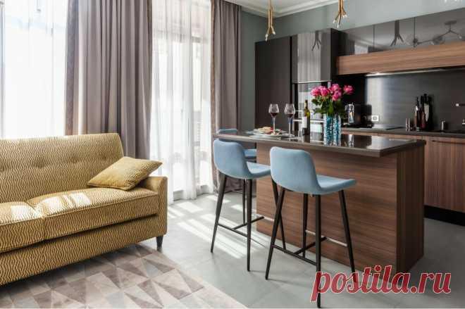 Может ли квартира быть уютной без бежевого цвета? Показываю на примере евродвушки 48 м² для молодой девушки   Филдс   Яндекс Дзен