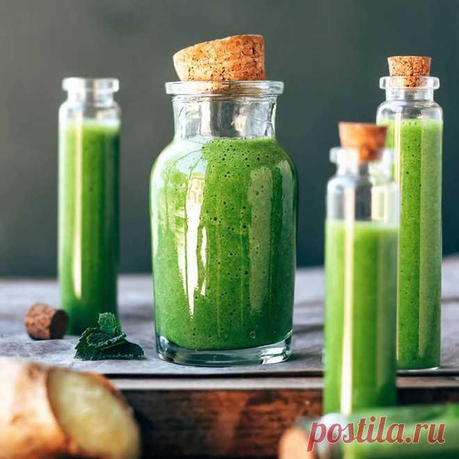 Омолаживающий смузи с рукколой и авокадо | Делимся советами