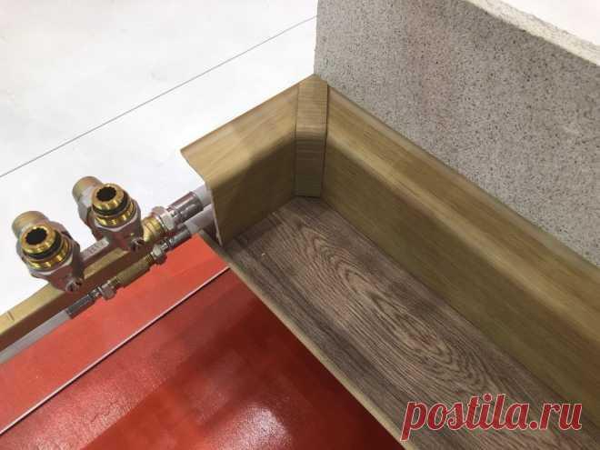 Прячем трубы в плинтусы, а не в стены и пол   Штуки из труб   Пульс Mail.ru Прокладка труб в плинтусах – довольно новый способ монтажа.