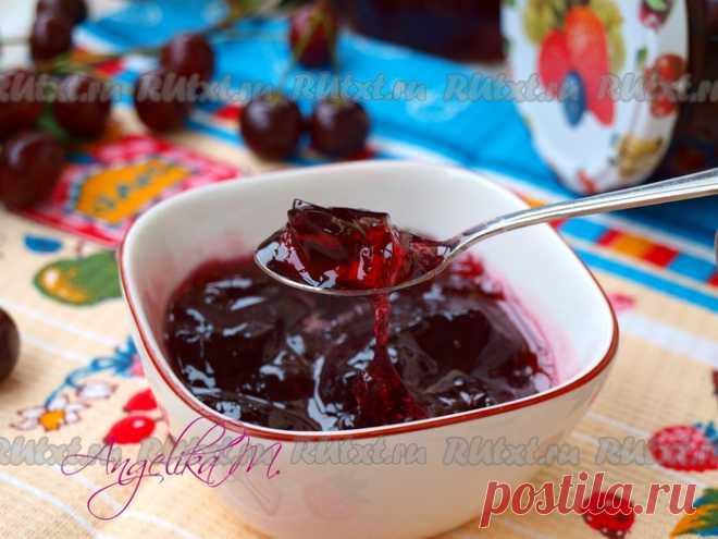 Вишня в желе на зиму - с замечательным вкусом и летним ароматом яркой вишни
