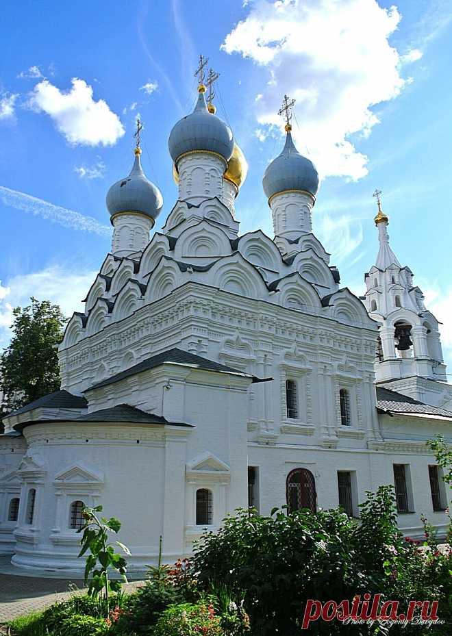 «Храм Николая Чудотворца в Пыжах, Москва» — карточка пользователя esterkot в Яндекс.Коллекциях
