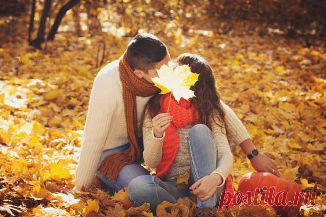 Картинки осень любви