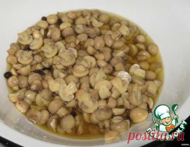 Маринованные грибы быстрого приготовления – кулинарный рецепт
