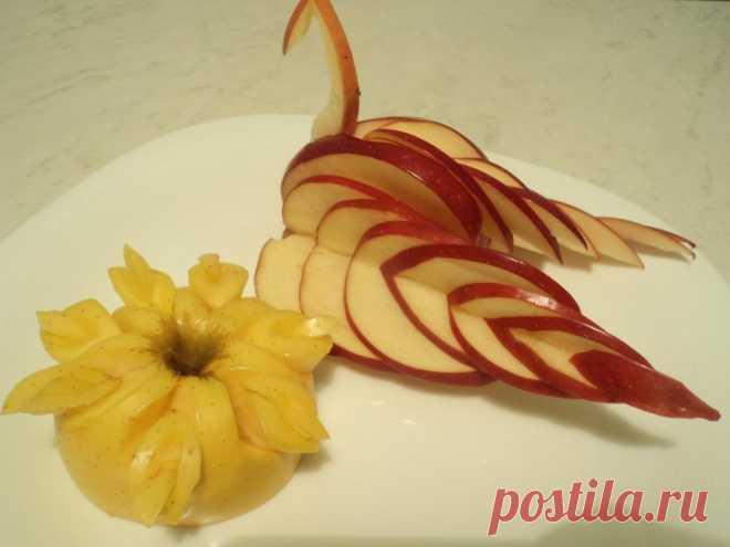 rigging: adornamiento de frutas de los platos