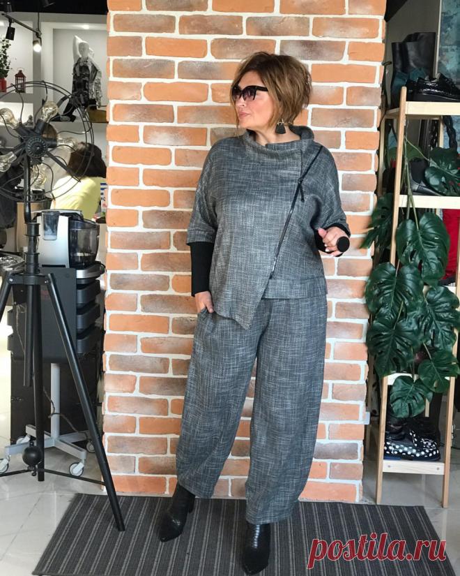 Актуальные осенние брюки для дам старше 45-ти лет   Леди Лайк   Яндекс Дзен
