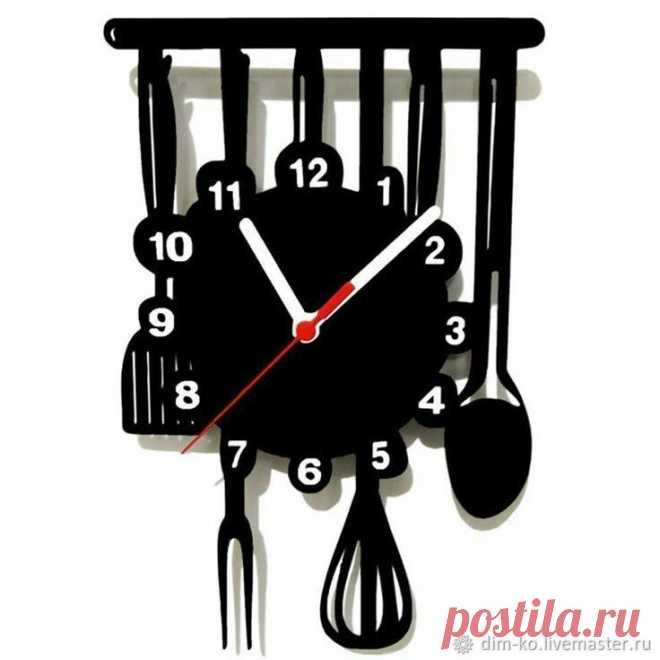Часы настенные из акрилового стекла Для кухни – купить в интернет-магазине на Ярмарке Мастеров с доставкой Часы настенные из акрилового стекла Для кухни - купить или заказать в интернет-магазине на Ярмарке Мастеров | Часы настенные из высококачественного акрилового…