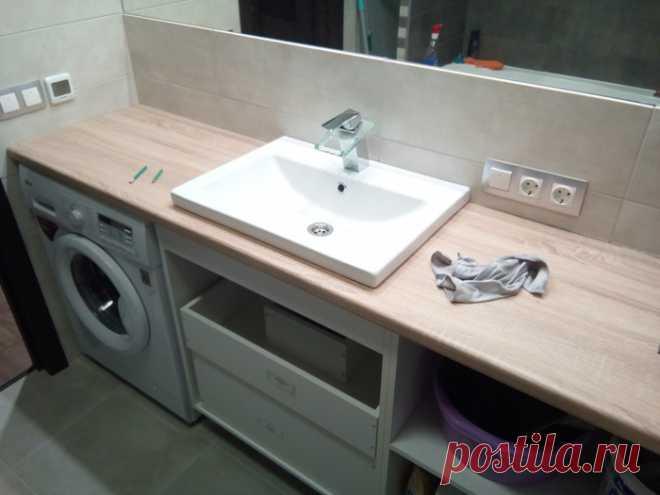 Мебель в ванную комнату своими руками | Пикабу