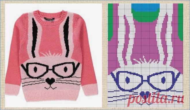 Интарсия - взрослые свитера с модными детскими рисунками - модели и схемы   МНЕ ИНТЕРЕСНО   Яндекс Дзен