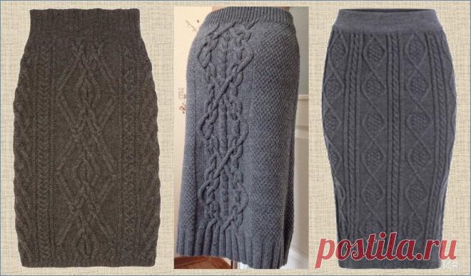 А может пора взять в руки спицы и связать зимнюю юбку? Какой она должна быть? Рассмотрим 35 вариантов разных моделей | МНЕ ИНТЕРЕСНО | Яндекс Дзен