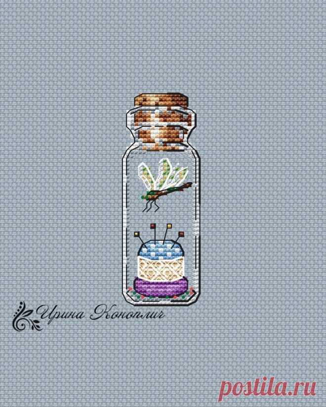 Бесплатные схемы для вышивки крестом - первая подборка - баночки, бутылочки и прочие стеклянные емкости   ЗаТВОРница   Яндекс Дзен