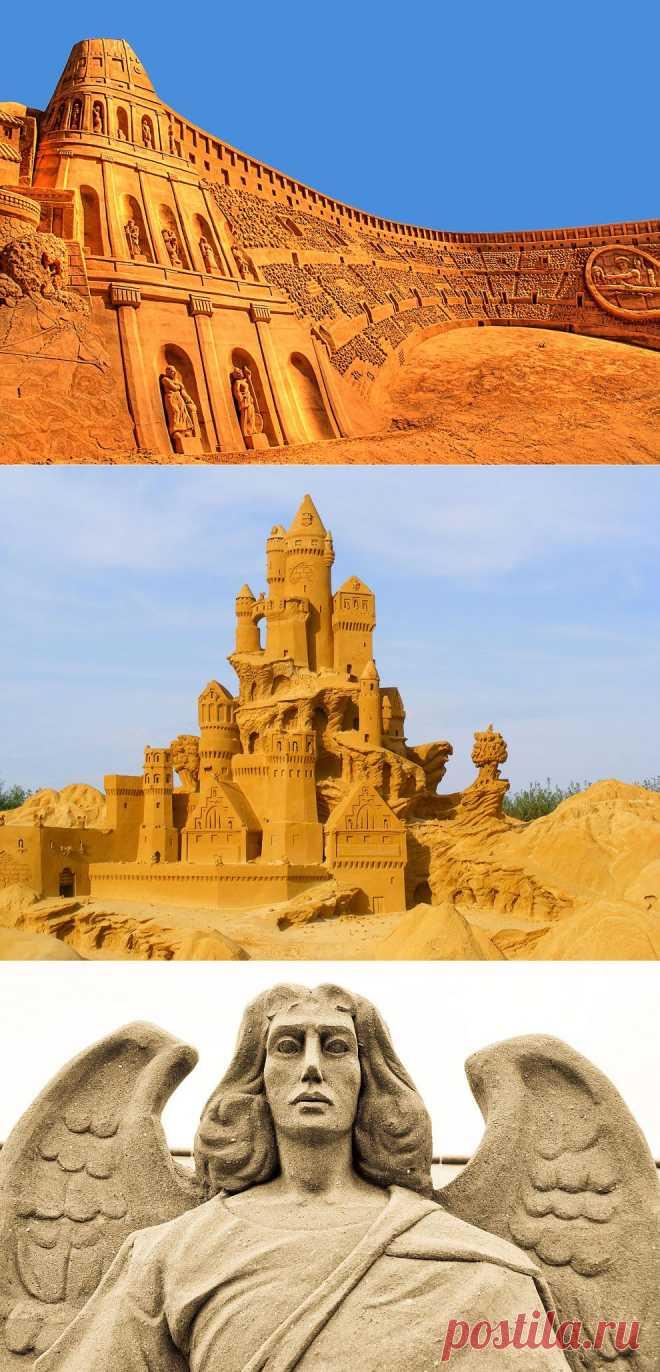 Лучшие фотографии со всего света - 20 восхитительных песчаных скульптур