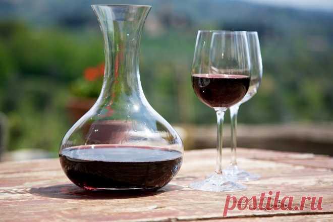 Красное вино — в косметических целях