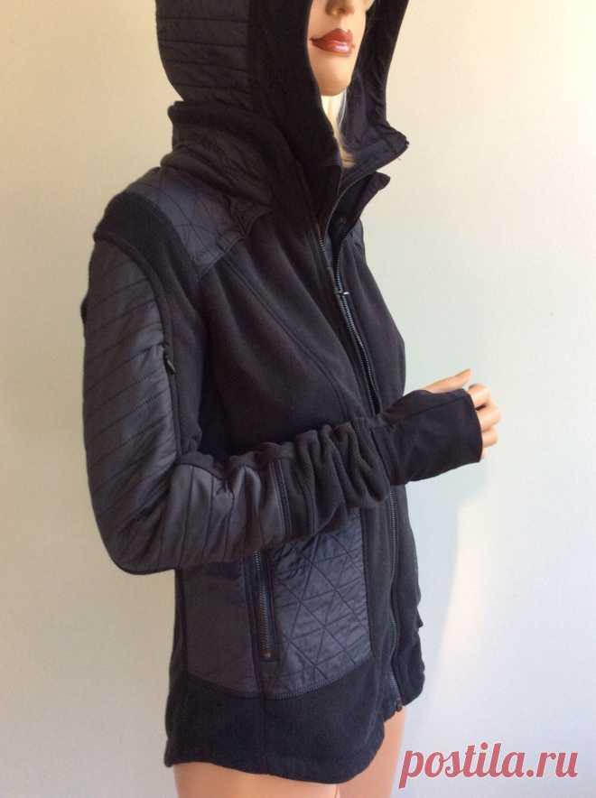 Lululemon black jacket size 6 | eBay