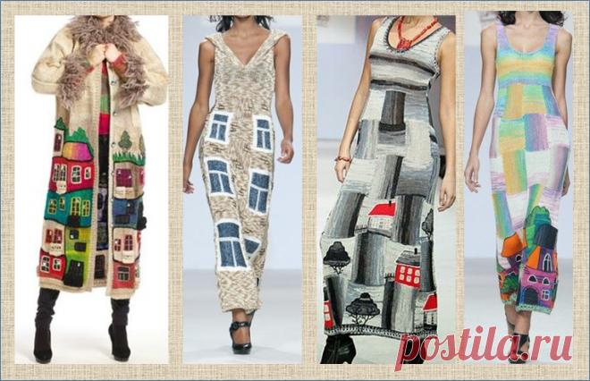 Вязание: домики и город - модно и дорого-богато | МНЕ ИНТЕРЕСНО | Яндекс Дзен