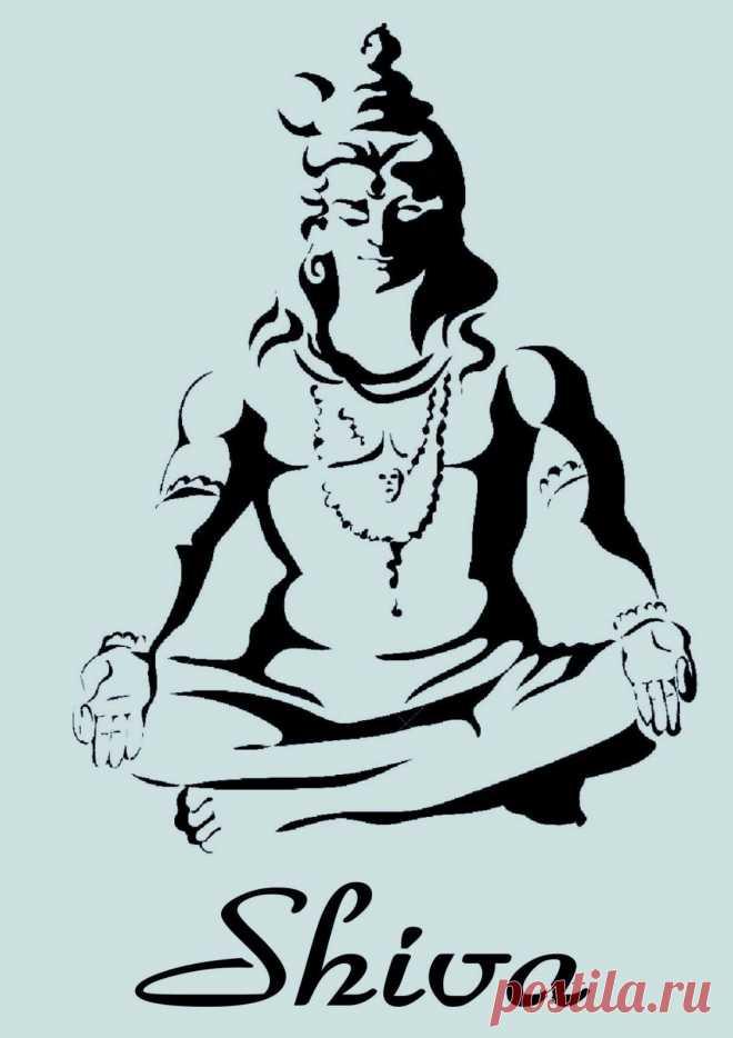 Schablone** - Shiva Gottheit - **A4****für Stoffe, Möbel usw.- ** Nr.: 948 | eBay