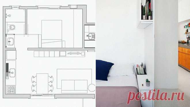 Спальная зона | Конструктивный ремонт квартиры