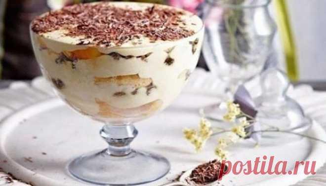 Самый вкусный десерт в мире — «Тирамису». После него вы забудете о двухэтажных кремовых тортах  Действительно, пальчики оближешь!   Ингредиенты: 200 гр. любого песочного печенья200 гр. творога (желательно обезжиренного100 гр. сметаны50 гр. сахара1 чайная ложка кофеванилькакао    Приготовление П…
