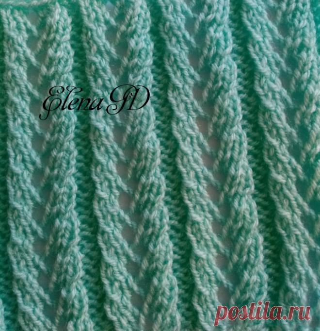 АЖУРНЫЕ ДОРОЖКИ | Вязание