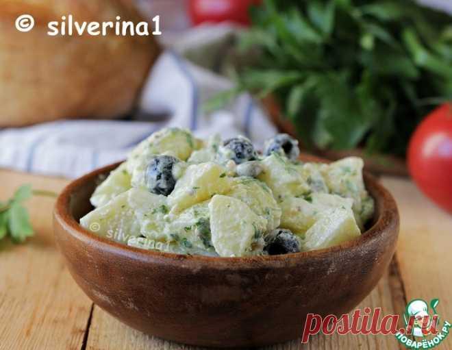 Греческий картофельный салат – кулинарный рецепт