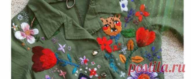 вышивка / Поиск по тегам / ВТОРАЯ УЛИЦА - Выкройки, мода и современное рукоделие и DIY