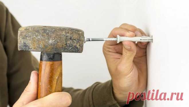 Как закрепить дюбель в стене Какие способы помогут закрепить выпадающий дюбель в стене.