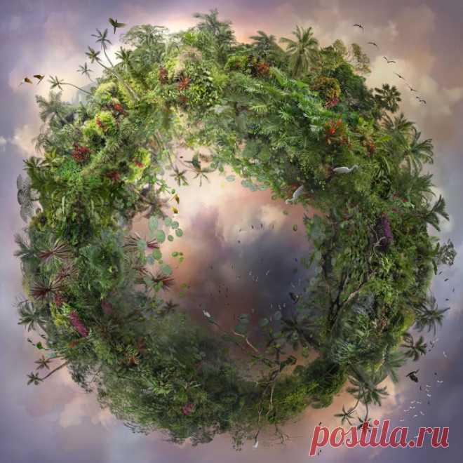Маленькие планеты, принадлежащие природе от Кэтрин Нельсон - Photar.ru