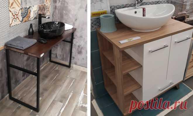 Можно ли «заставить» малогабаритную ванную комнату вместить все, что нужно. Несколько нестандартных идей на заметку