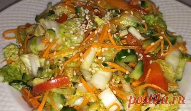 Хрустящая пекинская капуста по-корейски: отличное дополнение к мясу