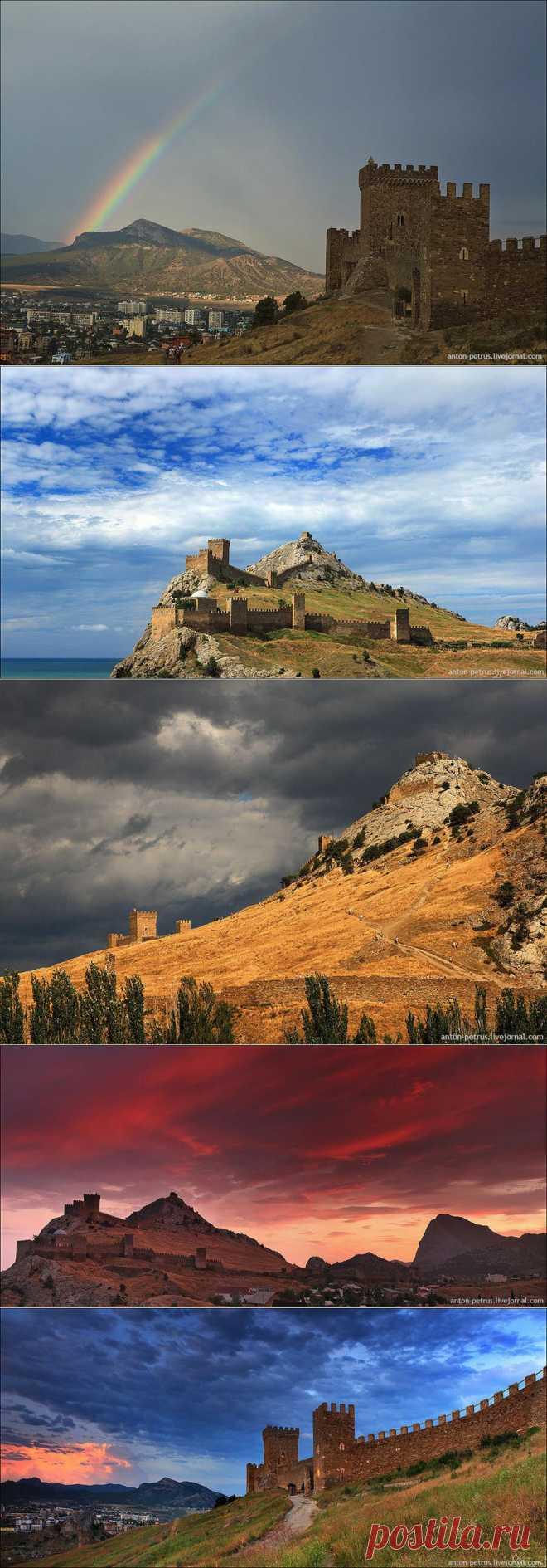 » Судак. Генуэзская крепость Это интересно!