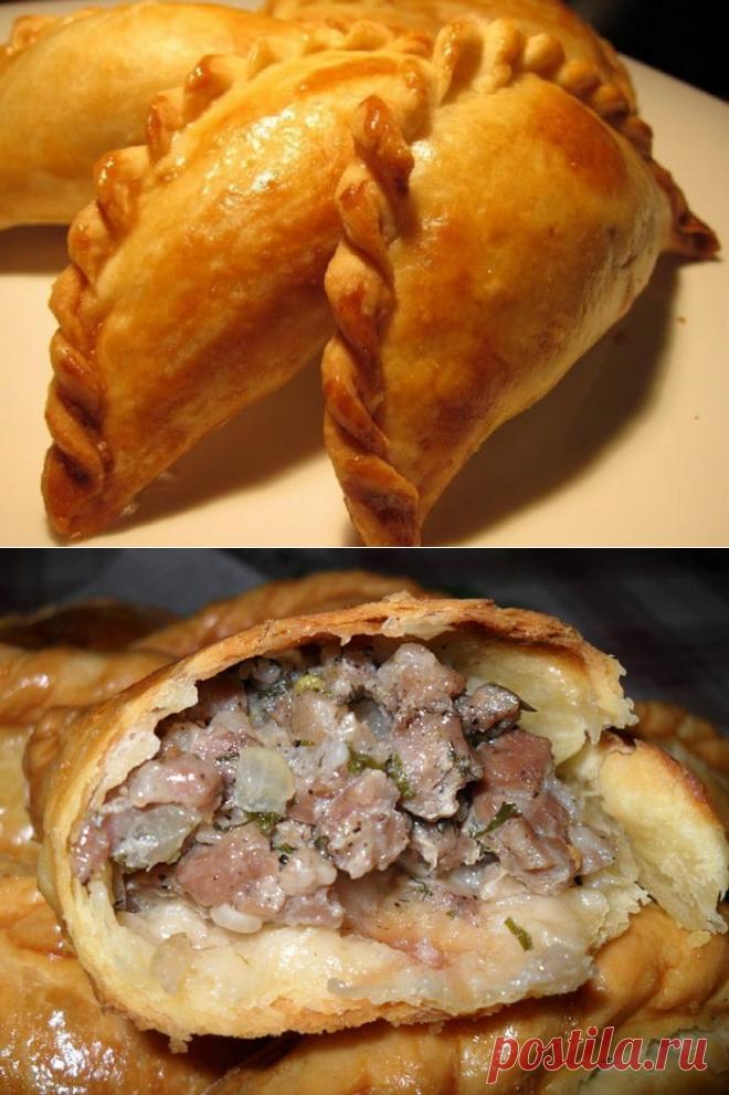 Караимские пирожки с мясом! Тесто хрустит, а начинка — объедение… | NashaKuhnia.Ru