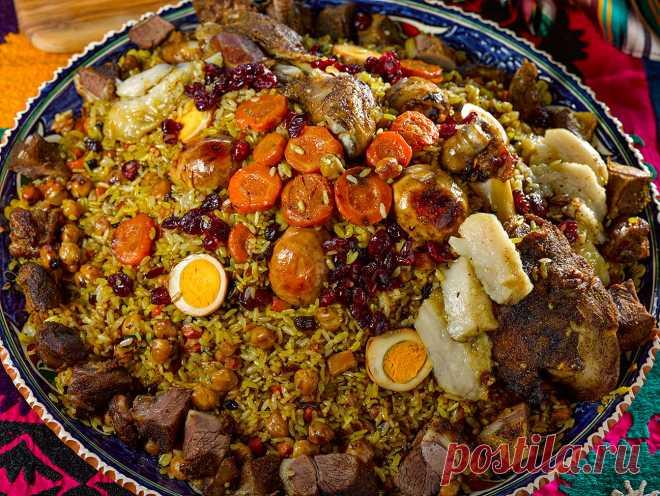 Щас как дам рецепт ташкентского праздничного плова!