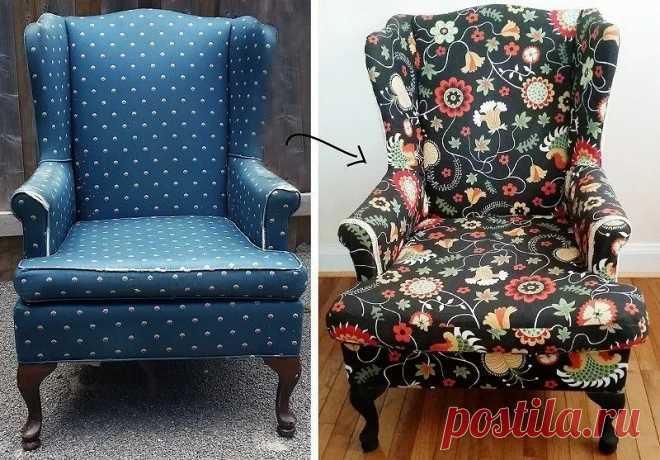 Как дать новую жизнь старой мебели: 10 идей — Мастер-классы на BurdaStyle.ru