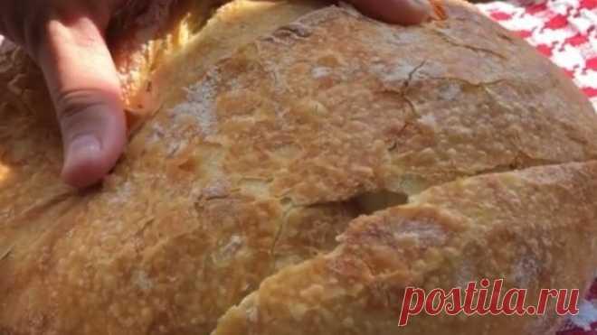 Домашний хрустящий хлебушек! Очень вкусно!❤